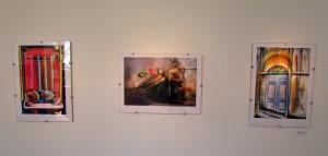 """Obras da Exposição """"Travessias"""". Foto: Suélen Mena"""